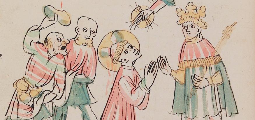 illumination from a manuscript